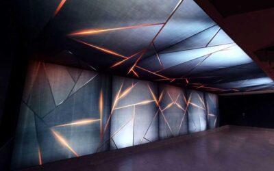Dekoracyjne ściany świetlne